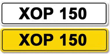 Lot 10-Registration Number XOP 150