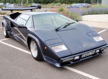 Lot 38-1987 Lamborghini Countach 5000 QV
