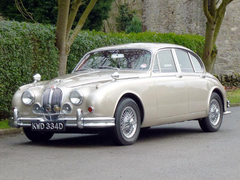 Lot 13 - 1966 Jaguar MK II 3.4 Litre