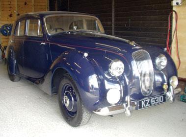 Lot 41-1951 Lagonda 2.6 Litre Saloon