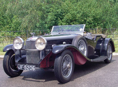 Lot 42-1933 Alvis Speed 20 SB Cross & Ellis Tourer