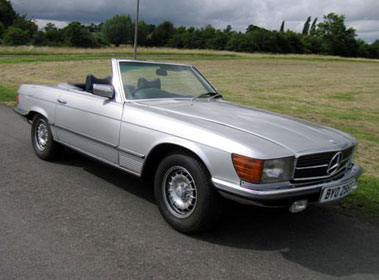 Lot 36-1979 Mercedes-Benz 450 SL