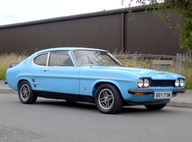 Lot 34-1974 Ford Capri RS 3100