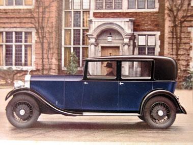 Lot 100-Rolls-Royce 20-25 HP Sales Brochure