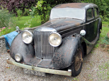 Lot 6-1938 SS Jaguar 3.5 Litre Saloon