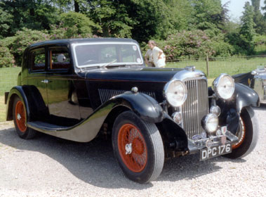 Lot 44-1935 Lagonda M45A Pillarless Saloon