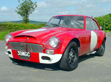 Lot 27-1969 MG C GT Sebring Evocation