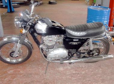 Lot 1-1979 Triumph Bonneville