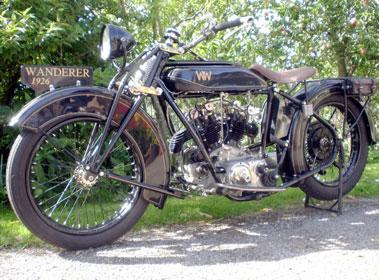 Lot 10-1926 Wanderer Motorcycle
