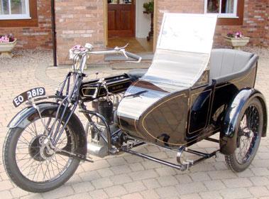 Lot 3-1922 Sunbeam Combination