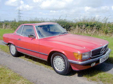 Lot 17-1986 Mercedes-Benz 300 SL