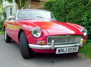 Lot 58-1978 MG B Roadster