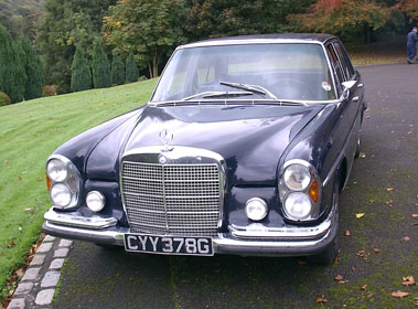 Lot 65-1969 Mercedes-Benz 280 SE