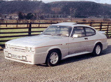 Lot 35-1986 Ford Capri 2.8i