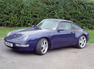 Lot 39-1995 Porsche 911 Carrera 4