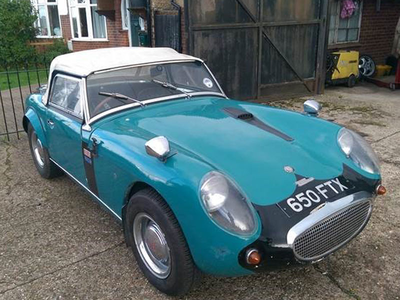 Lot 1-1960 Austin-Healey Sprite Supercharged