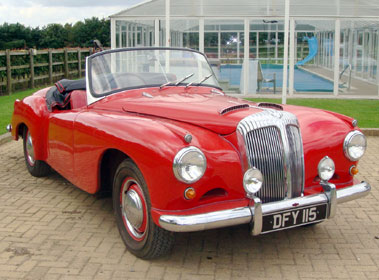 Lot 55-1954 Daimler Conquest Roadster