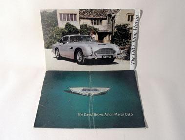 Lot 34-Two Aston Martin DB5 Sales Brochures