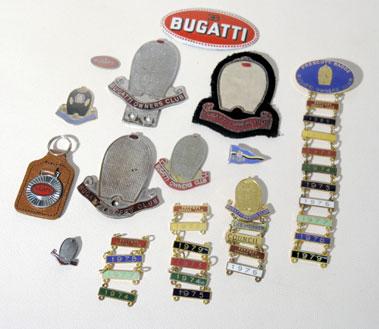 Lot 2-Bugatti Ephemera