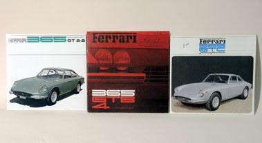 Lot 7-Three Ferrari Sales Brochures