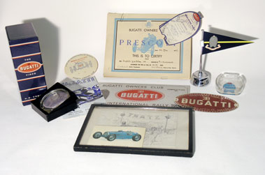 Lot 11-Bugatti Ephemera