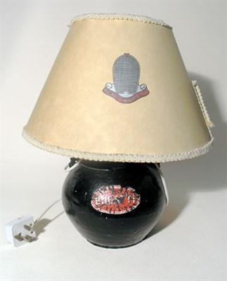 Lot 12-Bugatti Owners Club Table Lamp