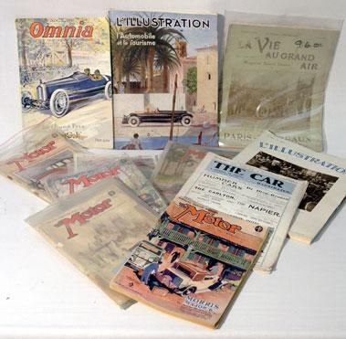 Lot 107-Quantity of Pre-war Magazines
