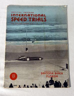Lot 119-Daytona Beach International Speed Trials - Official Programme (Feb. 1935)