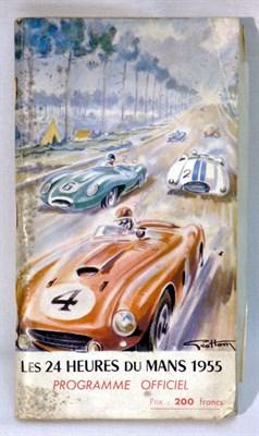 Lot 106-Le Mans 1955 Official Event Programme