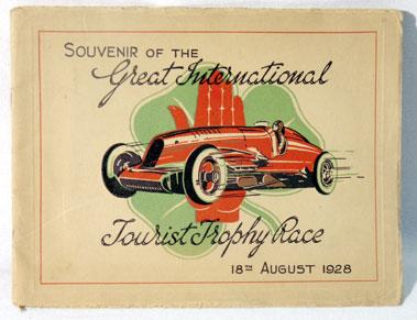 Lot 121-Souvenir of the Great International Tourist Trophy Race