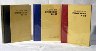 Lot 122-Bound Classic Car Profiles