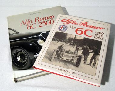 Lot 127-Two Alfa Romeo Books