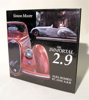 Lot 130-'The Immortal 2.9 Alfa Romeo 8C 2900 A & B' by Moore
