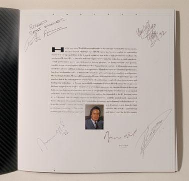 Lot 108-McLaren F1 Launch Brochure
