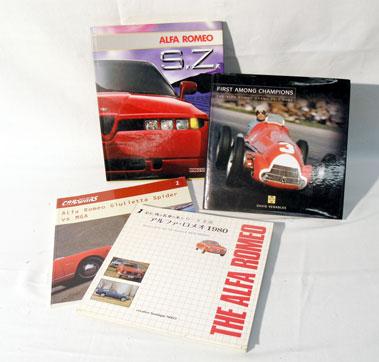 Lot 112-Four Alfa Romeo Books
