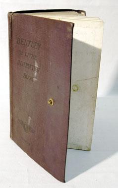 Lot 114-Bentley 3.5 Litre Instruction Book - No. 2