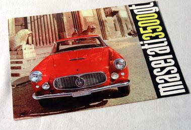 Lot 152-Maserati 3500 GT Sales Brochure