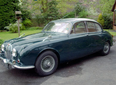 Lot 38-1968 Jaguar 340
