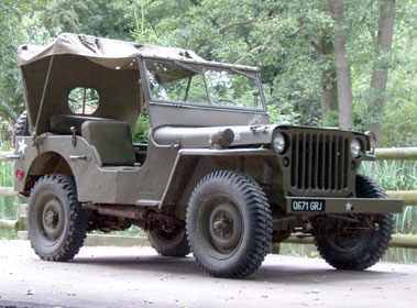 Lot 74-1944 Willys MB Jeep