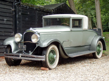 Lot 51-1928 Chrysler Imperial L-80 LeBaron Club Coupe