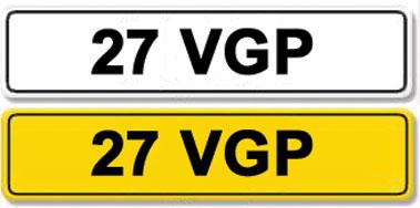 Lot 4-Registration Number 27 VPG