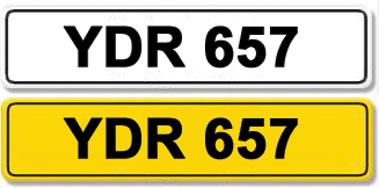 Lot 10-Registration Number YDR 657