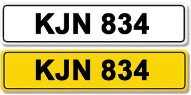 Lot 15-Registration Number KJN 834