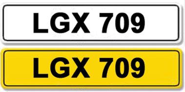 Lot 14-Registration Number LGX 709