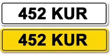 Lot 29-Registration Number 452 KUR