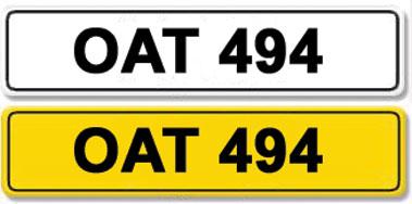 Lot 23-Registration Number OAT 494