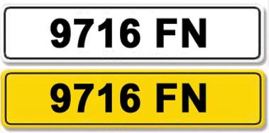 Lot 31-Registration Number 9716 FN