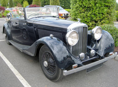 Lot 52-1935 Bentley 3.5 Litre Drophead Coupe