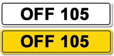 Lot 18-Registration Number OFF 105