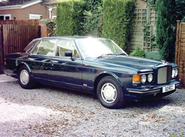 Lot 50-1989 Bentley Turbo R